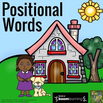 Positional Words (Placement Words)- Boom Cards