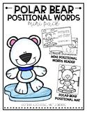 Positional Words: Polar Bears Pack