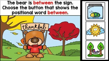 Positional Words PowerPoint Game | Prepositions PowerPoint Game