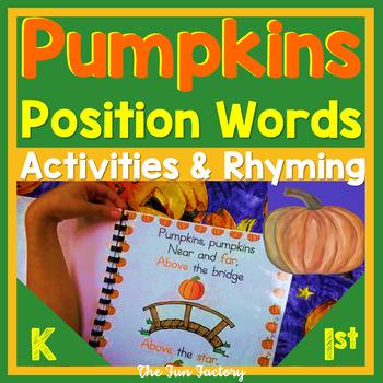 Position Words ~ Prepositional Phrases ~ Rhyming ~ PK-1st