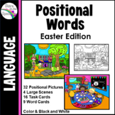 Preposition Activities (Positional Words Easter)