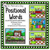 Preposition Activities (Positional Words) St. Patrick's Day