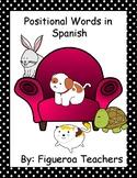 Positional Words - Spanish