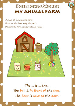 Positional Words Unit including card games, worksheets and a lot more!
