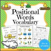 Positional Words Vocabulary for ELLs