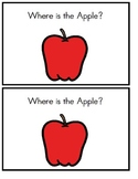 Positional Words - Where is the Apple?/ Emergent Reader