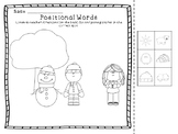Positional Words- Winter