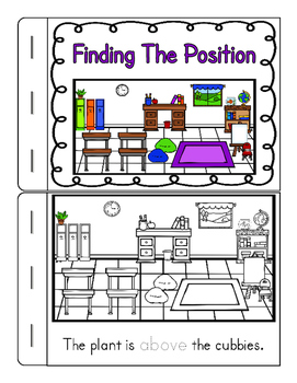 Positional Words Worksheets & Interactives