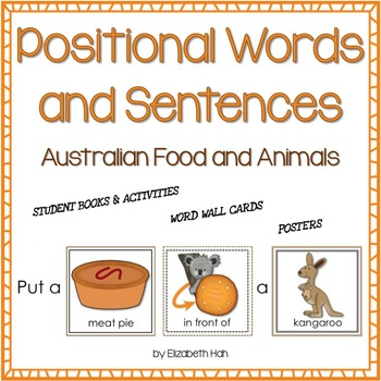 Positional Words and Sentences: Australian Food and Animal