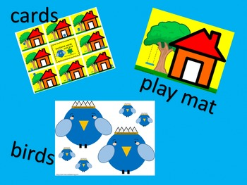 Positional Words with Bird