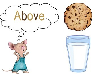 "Positional Words with ""If you give a mouse a cookie"""