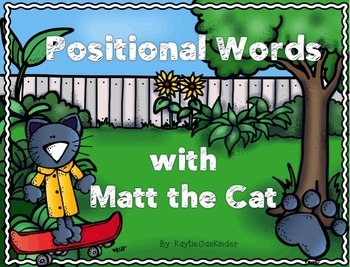 Positional Words with Matt the Cat