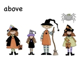 Positional Words with a Halloween Twist