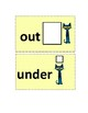 Positional and Directional Words Cards (Pete The Cat-Themed)