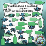 Positional and Directional Words Clip Art: Octopus and Bottle
