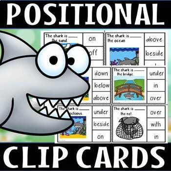 Positional shark clip cards