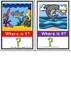 Positional shark flash cards