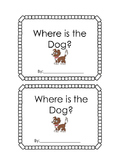 Positional words (prepositions) emergent reader