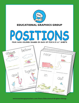 "Positions ♥ BUNDLE ♥ 4.25"" x 5.5"""
