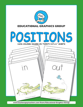 "Positions ♥ BUNDLE ♥ 8.5"" x 11"""