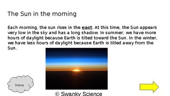 Positions of the Sun-Slideshow and Quiz