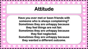 Positive ATTITUDE GRATITUDE Happiness Lesson Character Ed PBIS 6 videos NO PREP!