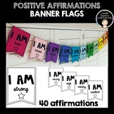Positive Affirmation Banner Flags