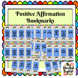 Mindful Activities - Positive Affirmation Bookmarks