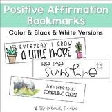 Positive Affirmation Bookmarks