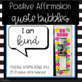 Positive Affirmation Bulletin Board