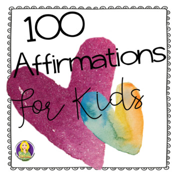 100 Free Affirmations For Kids