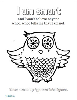 Positive Affirmation Coloring Page