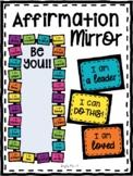 Positive Affirmation Mirror