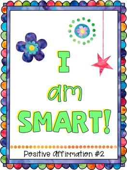 Growth Mindset Posters with Positive Affirmations