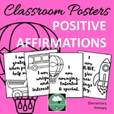 GROWTH MINDSET Posters for Elementary Primary Positive Aff