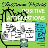 Positive Affirmation Posters for Elementary Primary Growth