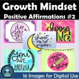 Positive Affirmation and Growth Mindset Set #2 Digital Images