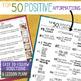 Positive Affirmation & Self-Esteem Activity: 4 Fun Fortune