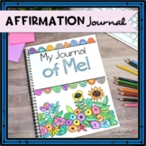 Positive Affirmation and Self Esteem Journal | CBT Reflections