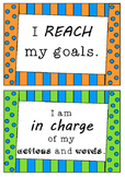 Positive Affirmations - 140 POSTERS - statements for students to use
