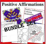 Positive Affirmations Bundle Set- 5 Power Of Positivity Co