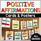 Positive Affirmations Posters and Cards: Full Color Version