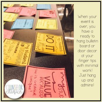 Positive Affirmations Door Decor