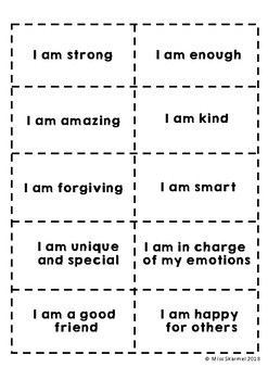 Positive Affirmations - For all students and teachers