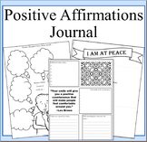 Positive Affirmations Journal:Self-Discovery and Positive Thinking Journal