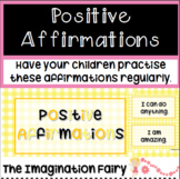 Positive Affirmations Mindfulness for Children
