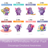 Positive Affirmations Poster Pack   Encourage A Positive M