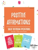 Back to school Positive Affirmations Posters
