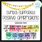 Positive Affirmations: Symbol Supported Watercolor Decor