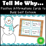 Positive Affirmations and Self-Esteem Tell Me Why Cards